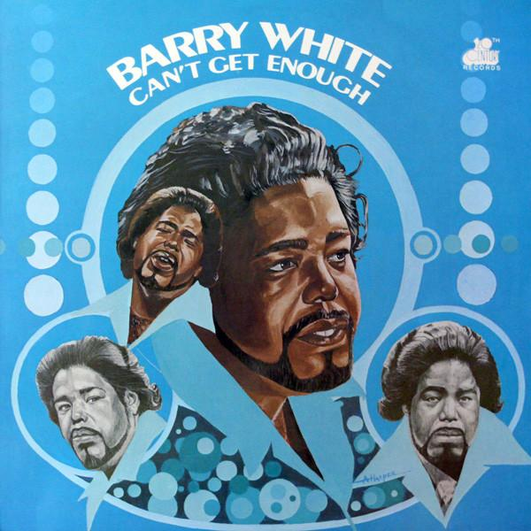 Barry White - Can't Get Enough (LP) Mercury