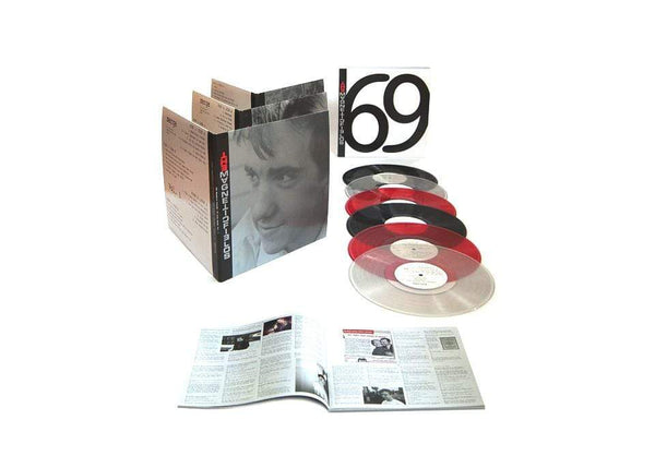 "The Magnetic Fields - 69 Love Songs (6x10"" - Boxset - Black Vinyl + Slipcase Box + Booklet) Merge Records"