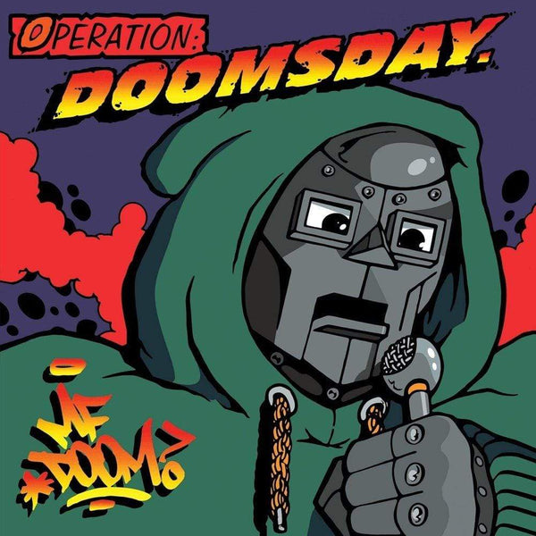 MF DOOM - Operation: Doomsday (CD) Metal Face Records