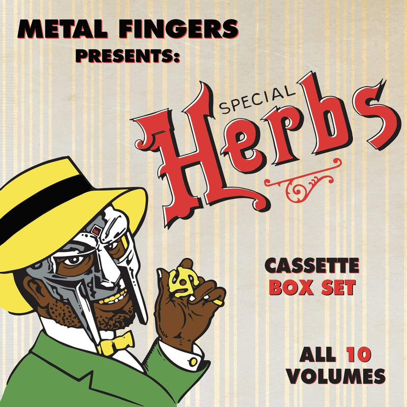 MF DOOM - Special Herbs: The Complete Set (5xCassette - Boxset) Metal Face Records