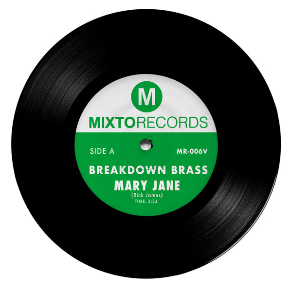 Breakdown Brass - Mary Jane b/w The Horseman (7'') Mixto Music