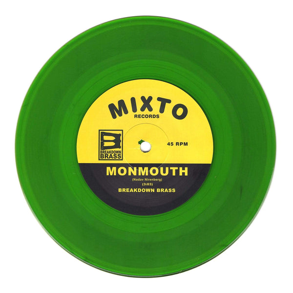 "Breakdown Brass - Next Episode b/w Monmouth (7"" - Fat Beats Exclusive Green Vinyl) Mixto Music"