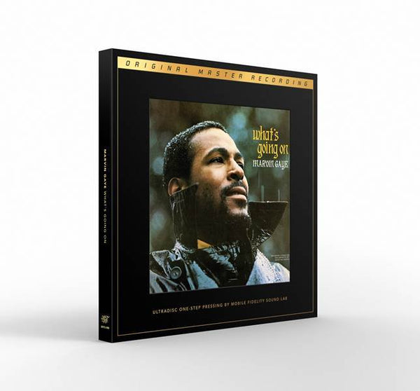 Marvin Gaye - What's Going On: 45RPM Audiophile SuperVinyl UltraDisc One-Step (2xLP - Box Set) Mobile Fidelity Sound Lab