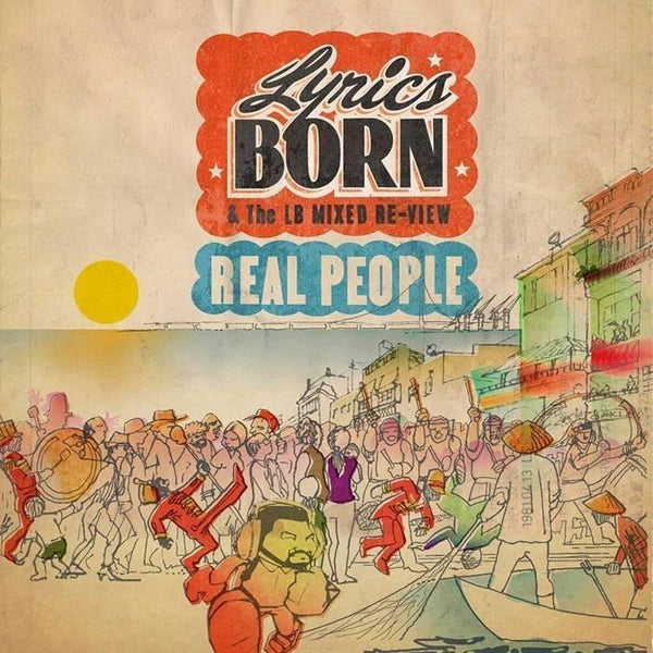 Lyrics Born - Real People (2xLP) Mobile Home Recordings