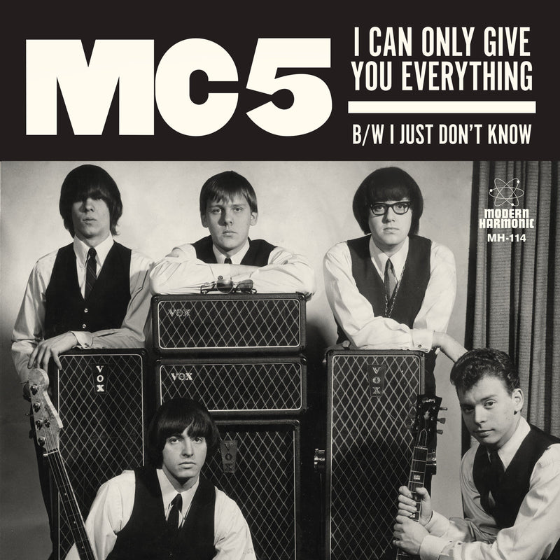 "MC5 - I Can Only Give You Everything / I Just Don't Know (7"" - White Vinyl) Modern Harmonic"