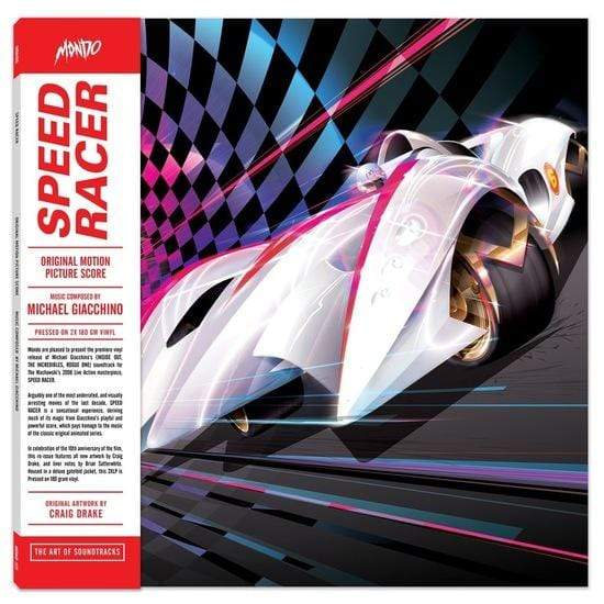 Michael Giacchino - Speed Racer: Original Motion Picture Soundtrack (2xLP) Mondo
