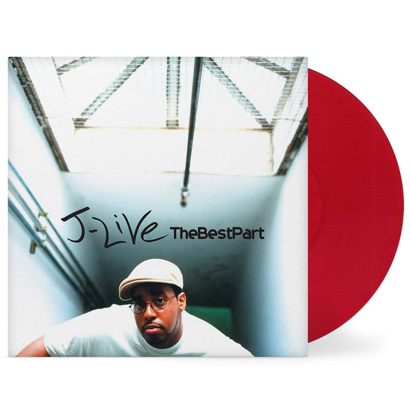 J-Live - The Best Part (2xLP - Red Vinyl) Mortier Music