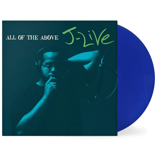 J-Live - The Best Part/All Of The Above (4xLP - Bundle - Colored Vinyl) Mortier Music