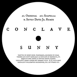 "Conclave - Sunny (12"") Most Excellent Unlimited"