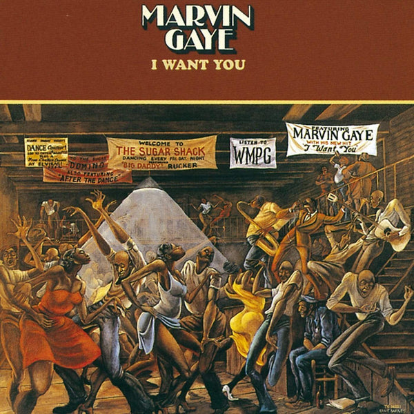 Marvin Gaye - I Want You (LP) Motown