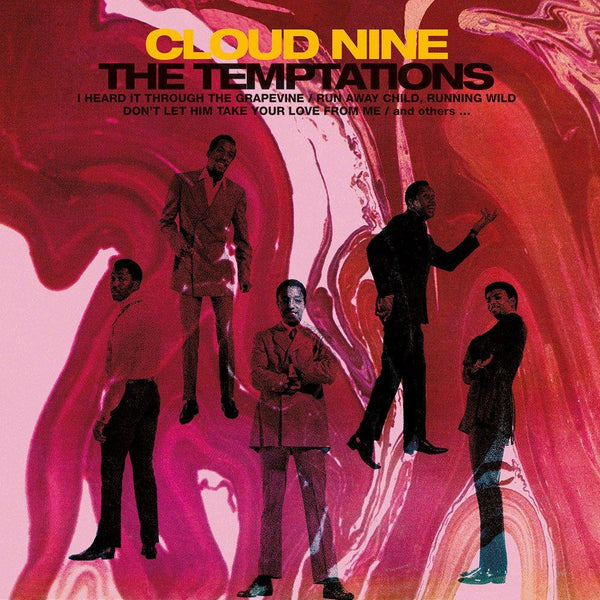 "The Temptations - Cloud Nine (LP - ""Space Swirl"" Vinyl) Motown"