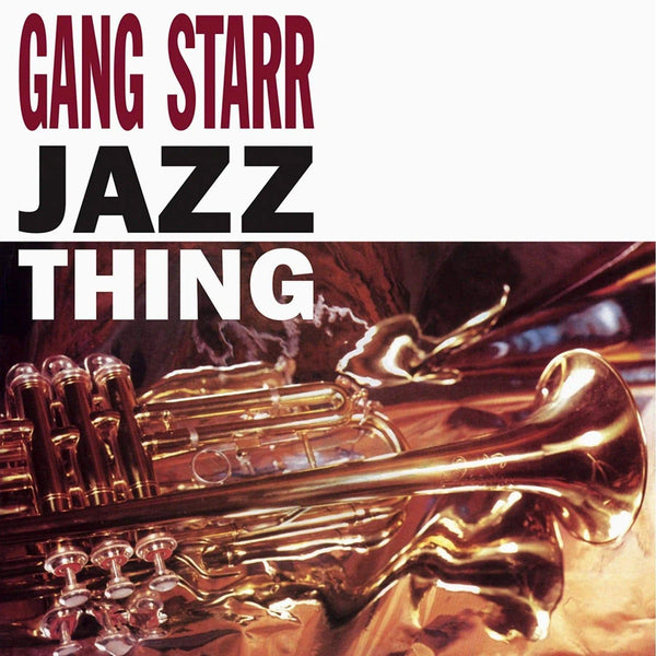 "Gang Starr - Jazz Thing (7"") Mr. Bongo"