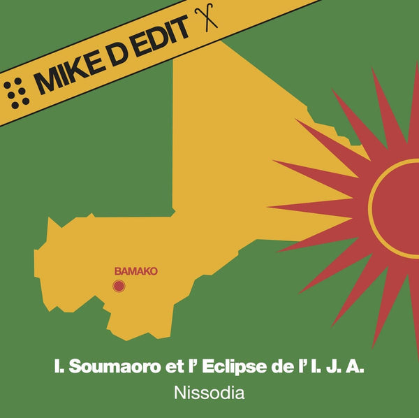 "Idrissa Soumaoro Et L'Eclipse De L'Ija - Nissodia (Mike D Edit) (12"") Mr. Bongo"