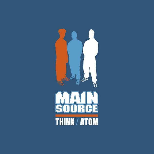 "Main Source - Think b/w Atom (7"" - Fat Beats Exclusive Orange Vinyl) Mr. Bongo"