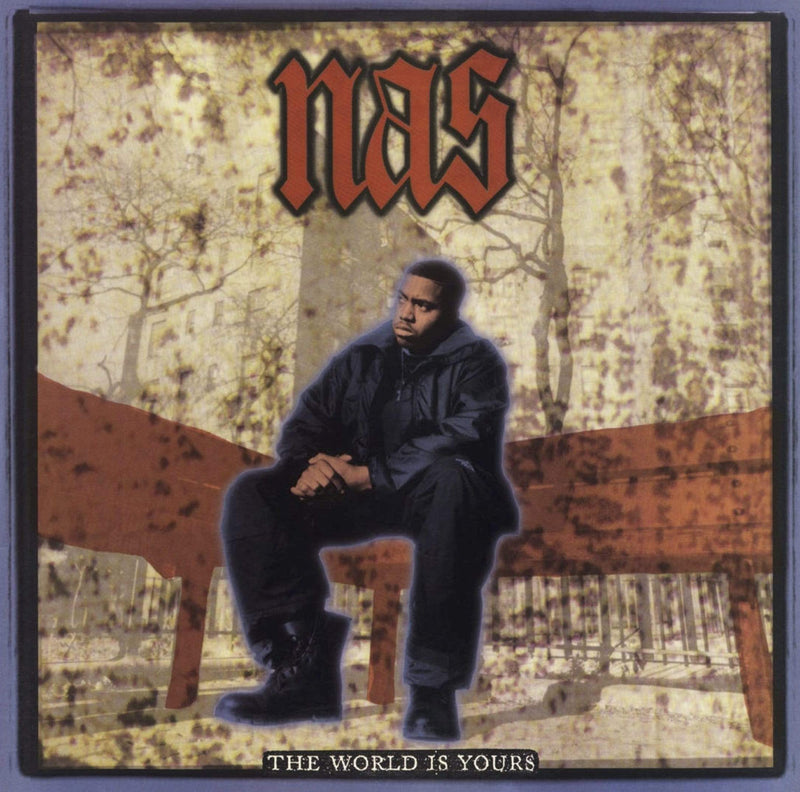 "Nas - The World Is Yours (7"" - Fat Beats Exclusive Clear Vinyl) Mr. Bongo"