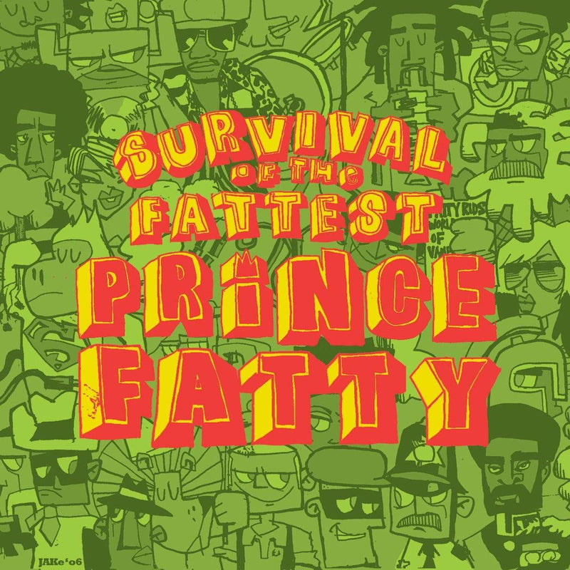 Prince Fatty - Survival Of The Fattest (LP) Mr. Bongo