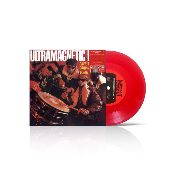 "Ultramagnetic MC's - Give the Drummer Some (7"" - Fat Beats Exclusive Red Vinyl) Mr. Bongo"
