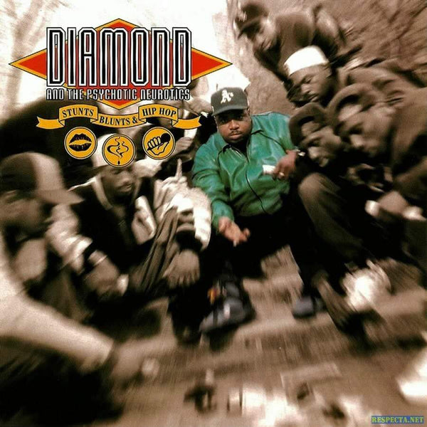 Diamond D & The Psychotic Neurotics - Stunts, Blunts & Hip Hop (2xLP - 180 Gram Vinyl - Import) Music On Vinyl
