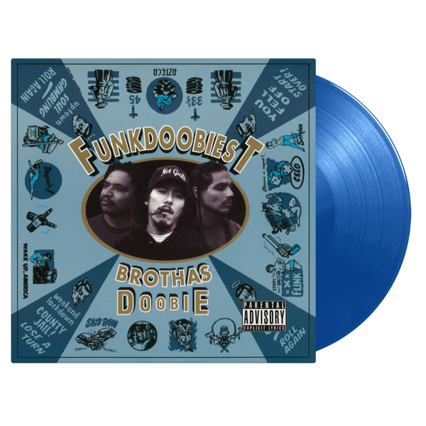 Funkdoobiest - Brothas Doobie (LP - 180 Gram Blue Vinyl) Music On Vinyl