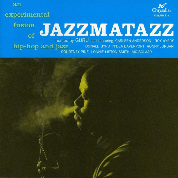 Guru ‎- Jazzmatazz, Volume 1: 25th Anniversary Edition (LP - 180 Gram Blue Vinyl) Music On Vinyl