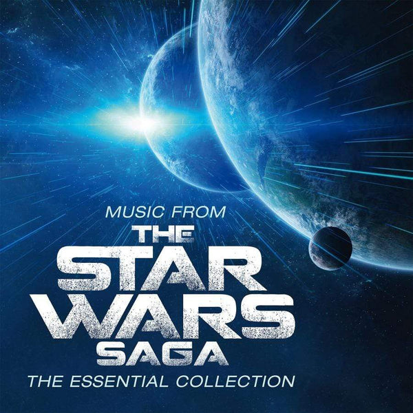 Robert Ziegler/John Williams - Music From The Star Wars Saga: The Essential Collection (Soundtrack) (2xLP - Limited 180 Gram Blue Vinyl) Music On Vinyl
