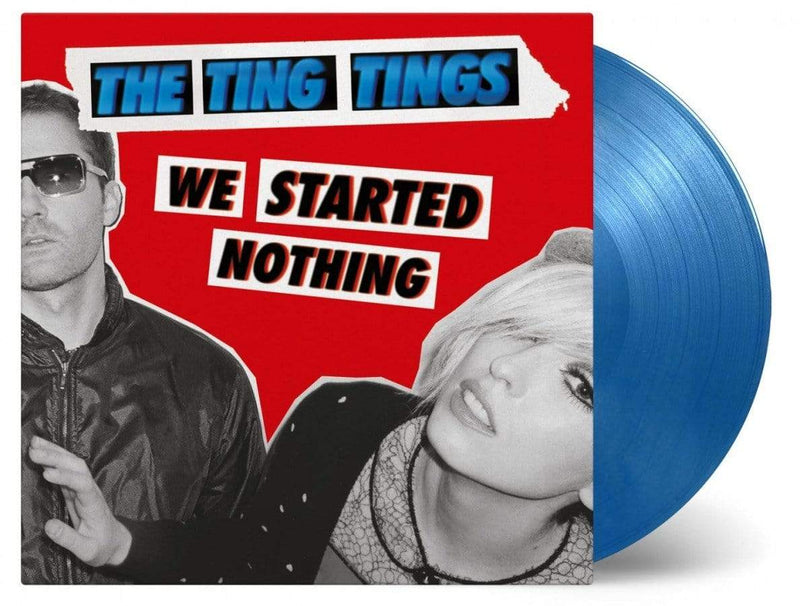 The Ting Tings - We Started Nothing: 10th Anniversary Edition (LP - 180 Gram Silver/Blue Vinyl Music On Vinyl