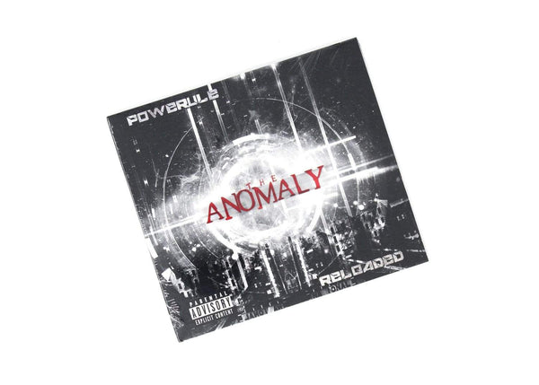 Powerule - The Anomaly: Reloaded (CD) Musicinyaear Recordings