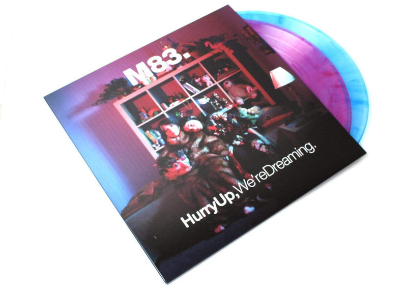 M83 - Hurry Up, We're Dreaming (2xLP - Clear Pink/Blue Vinyl) Mute