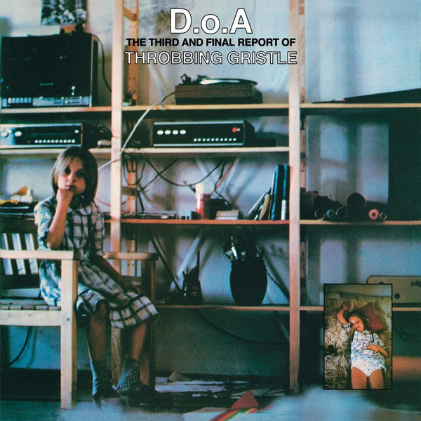 Throbbing Gristle - D.O.A.: The Third And Final Report Of Throbbing Gristle (LP - Limited Green Vinyl + Booklet) Mute