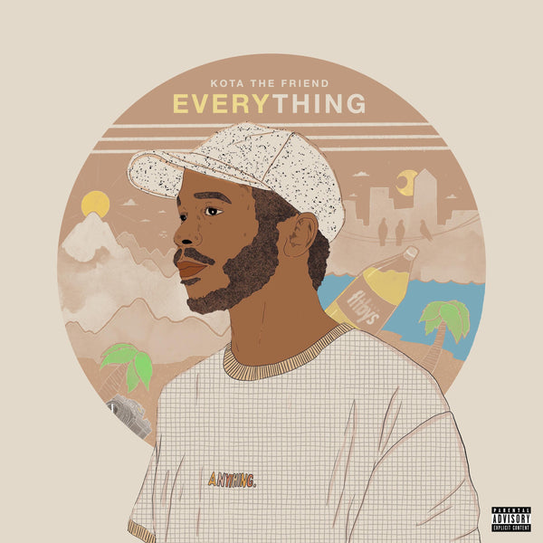 Kota the Friend - Everything (LP - Limited Splatter Vinyl) Mutombo Records