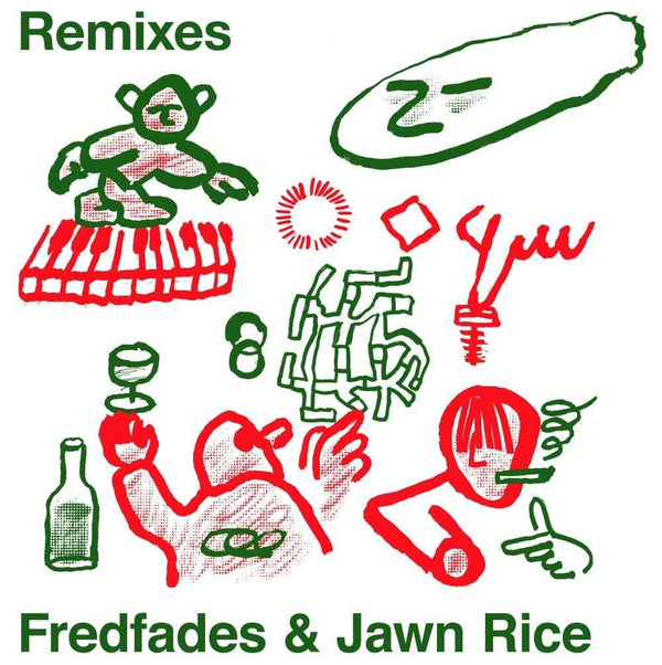 "Fredfades & Jawn Rice - Remixes EP (10"") Mutual Intentions"