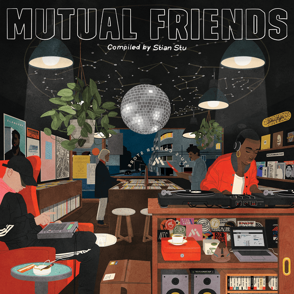Mutual Intentions - Mutual Friends (LP) Mutual Intentions