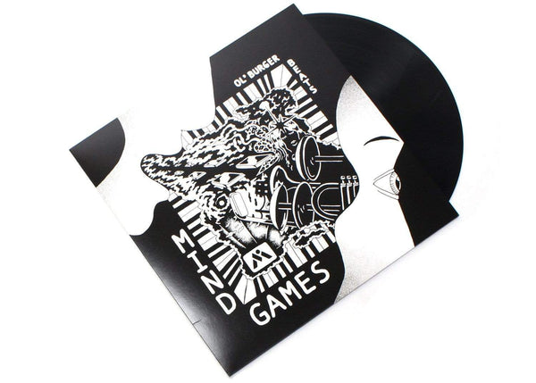 Ol' Burger Beats - Mind Games (LP) Mutual Intentions