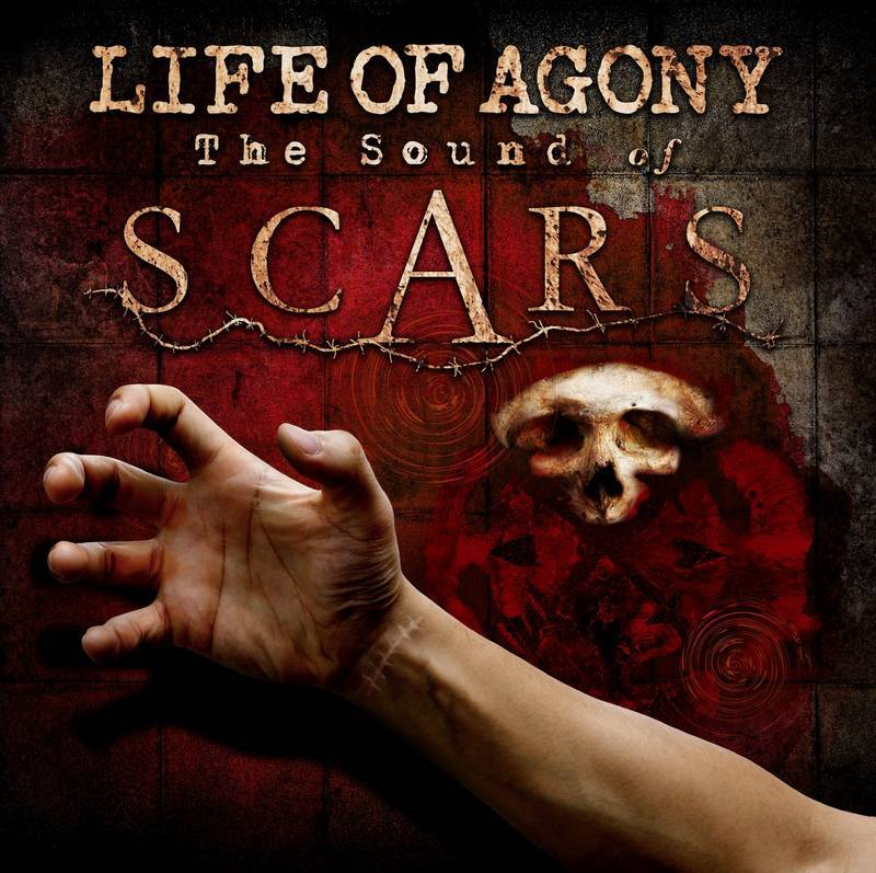 Life Of Agony - The Sound Of Scars (LP - Black/Red Splatter Colored Vinyl) Napalm Records