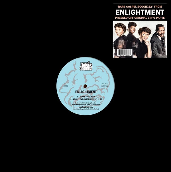 "Enlightment - Agape Love (12"") Nature Sounds"