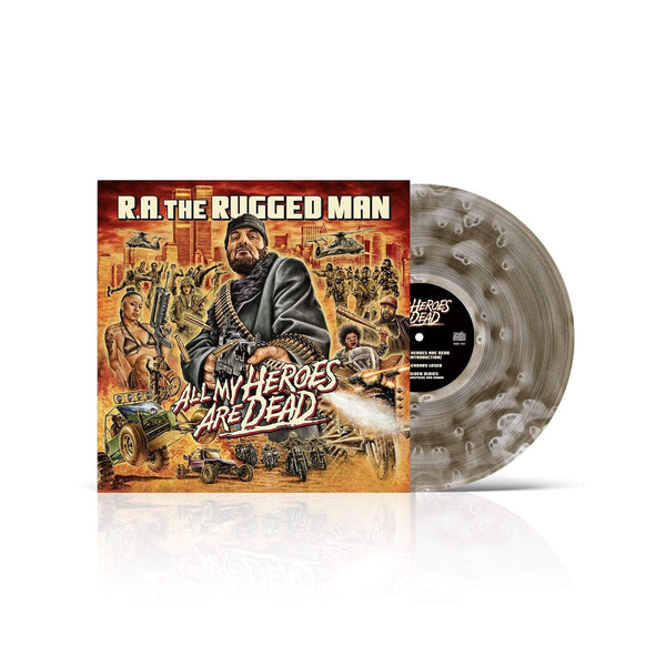 "R.A. The Rugged Man - All My Heroes Are Dead (3xLP - ""Ghostly Vinyl"" - Fat Beats Exclusive) Nature Sounds"
