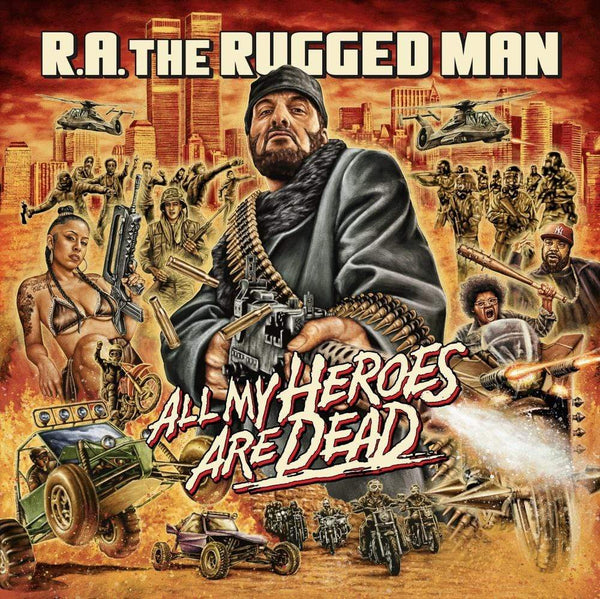 R.A. The Rugged Man - All My Heroes Are Dead (3xLP) Nature Sounds