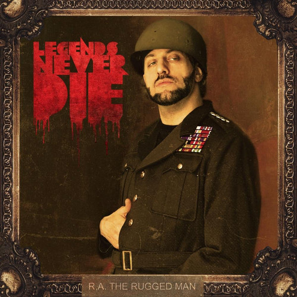 R.A. The Rugged Man - Legends Never Die (CD) Nature Sounds
