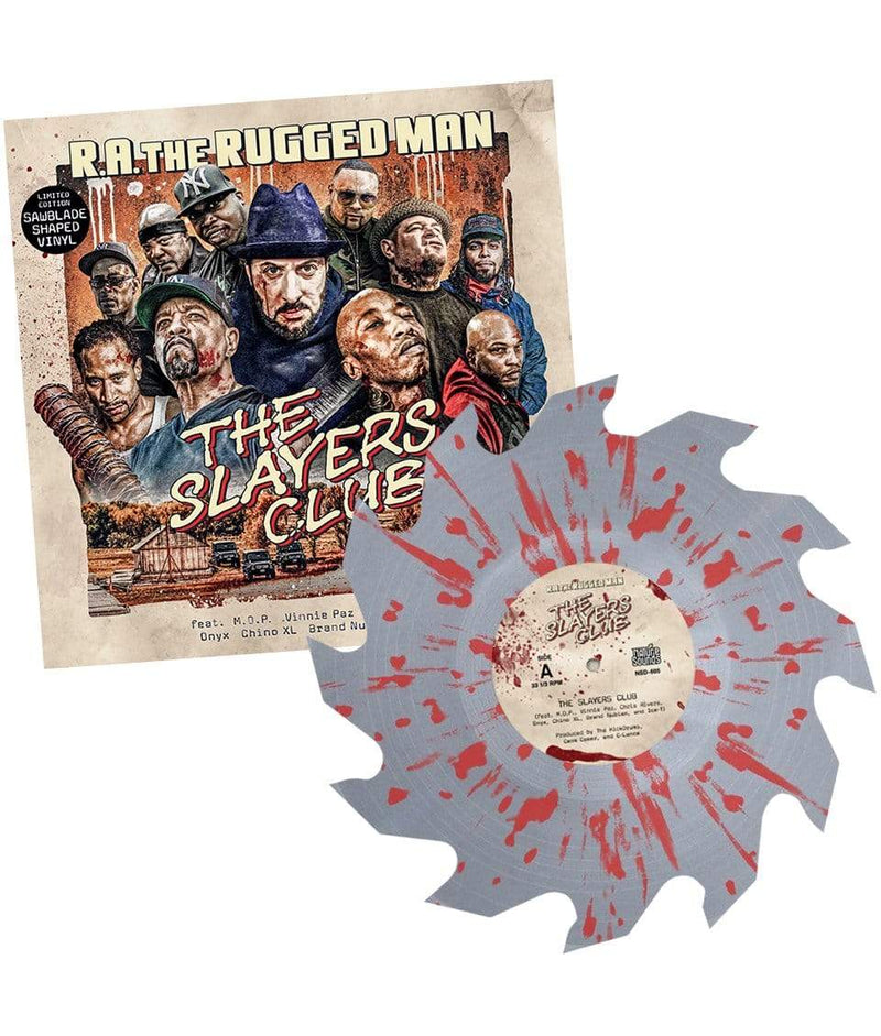 "R.A. The Rugged Man - The Slayers Club (Sawblade Shaped 10"" + Insert) Nature Sounds"