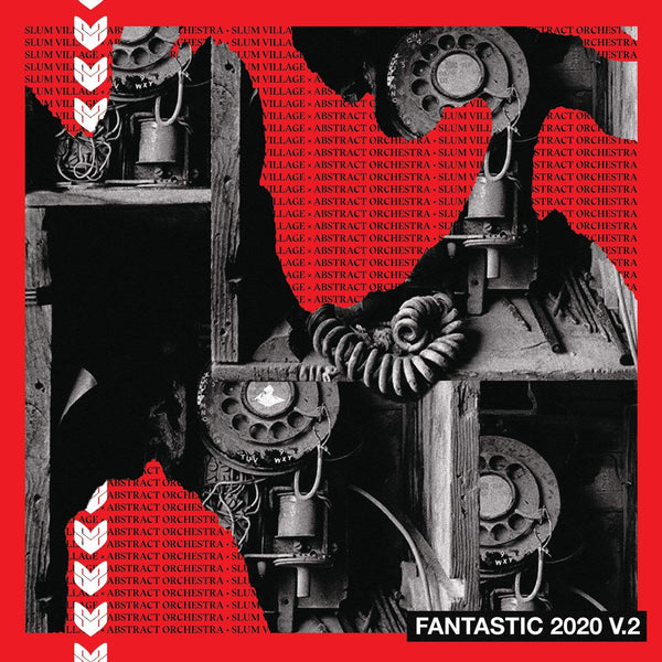 Slum Village & Abstract Orchestra - Fantastic 2020, V.2 (LP - Red Vinyl) Ne'Astra Music Group