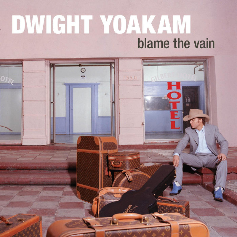 Dwight Yoakam - Blame The Vain (LP - Limited Edition Blue and White Splatter Vinyl) New West Records
