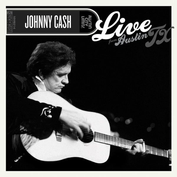 Johnny Cash - Live From Austin, TX (Coke Bottle Clear Vinyl LP) New West Records