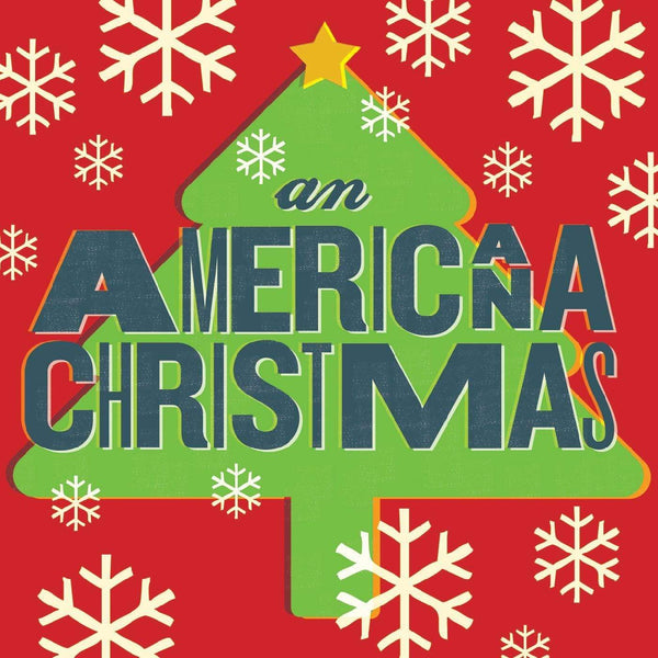 V/A - An Americana Christmas (LP - Red & Green Splatter Vinyl) New West Records