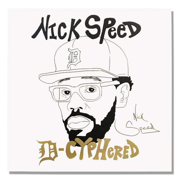 Nick Speed - D-Cyphered (2xLP) Nick Speed