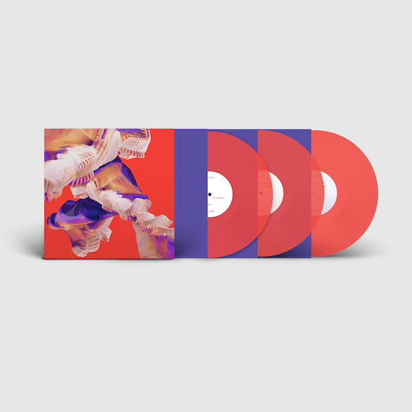 Isles (3XLP - Deluxe Transparent Neon Orange Vinyl) Ninja Tune