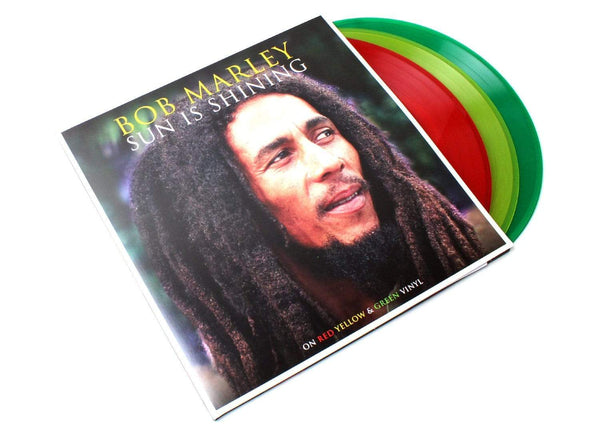 Bob Marley - Sun Is Shining (3xLP - Red/Yellow/Green Vinyl) Not Now