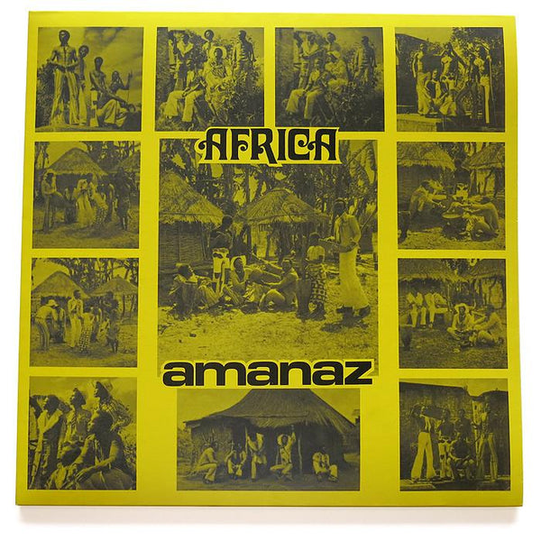 Amanaz - Africa (2xCD - Deluxe Reissue: Standard + Reverb Mix + Booklet) Now Again