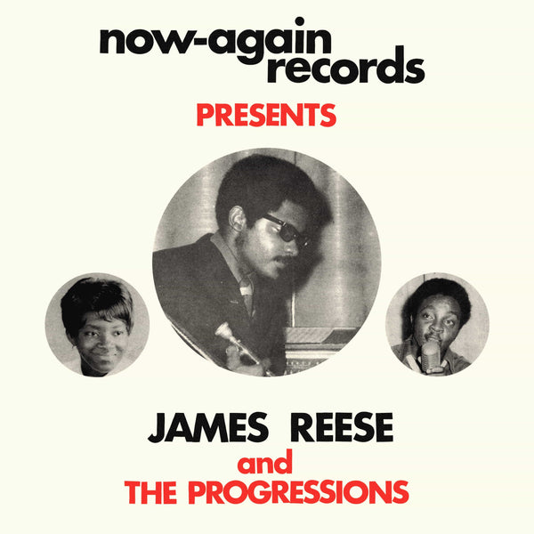 James Reese And The Progressions - Wait For Me: The Complete Works 1967-1972 (LP) Now Again
