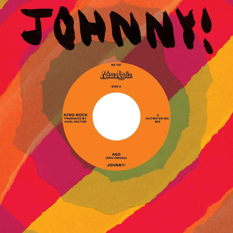 "Johnny! - Ago b/w Instrumental (7"" + Download Card) Now Again"