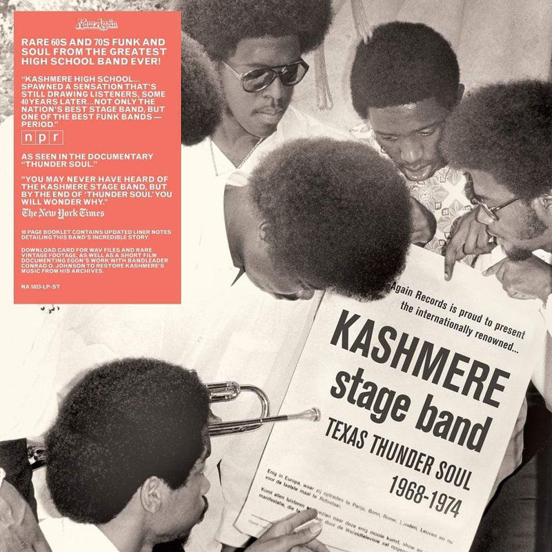 Kashmere Stage Band - Texas Thunder Soul: 1968-1974 (2xLP + Booklet + Download Card) Now Again